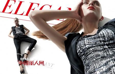 时尚解码  FKA弗卡品牌女装2012春夏新品画册
