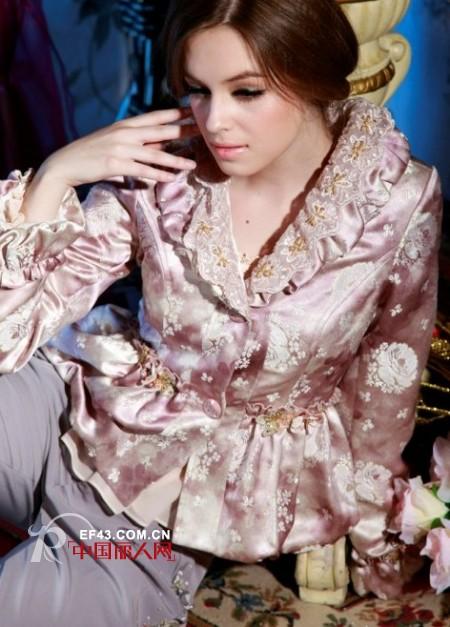 汉蜜品牌女装 知性中闪现唯美纯真气质