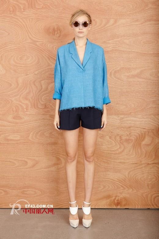凯伦·沃克 (Karen Walker)  2014新款海天色女装