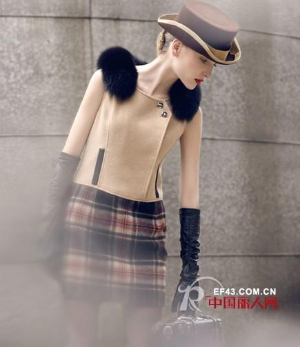 优美世界umisky女装  让这个寒冬色彩依旧丰富