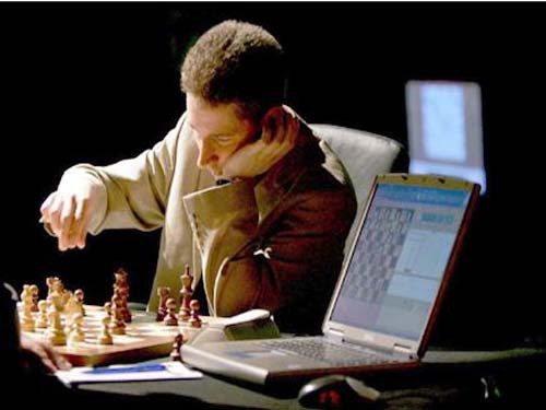 Man-machine war loves chess