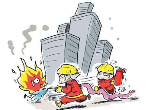 High-rise fire prevention self-help skills need to master