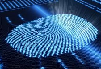 Anti-theft technology: fingerprints can be identified by rubbing