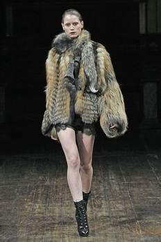 Fur is gradually becoming civilian