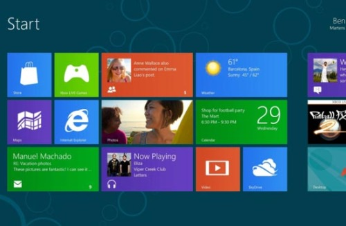 News that Microsoft completed Win8 development this summer