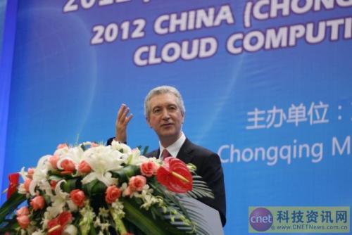 Steve Gill: Hewlett-Packard 7 Golden Flowers in Chongqing Companion Cloud Computing