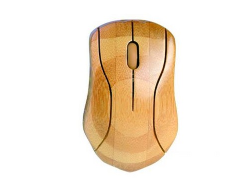 Bamboo wireless mouse