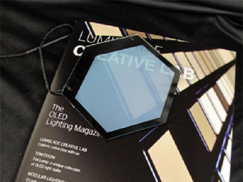 Philips showcases future OLED lighting technology