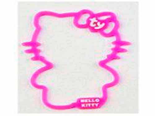 Hello Kitty promotes new products in September with rubber band wristbands