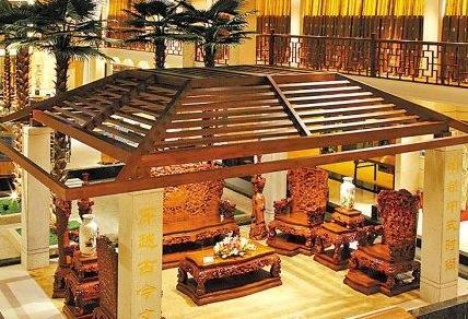 Redwood broadcasts Jinxi Nanmu 1 ton 300 million