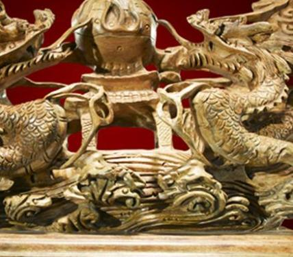 At the end of the year is the best selling of wood carving crafts