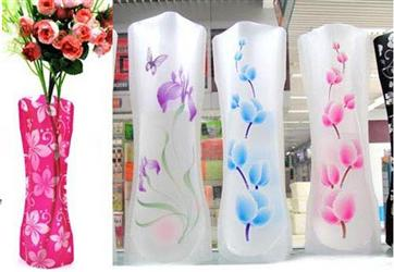 Office Pop Folding Plastic Vase