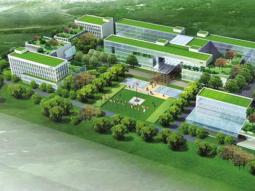 """Spend 10 yuan/m2 building can become """"green"""""""