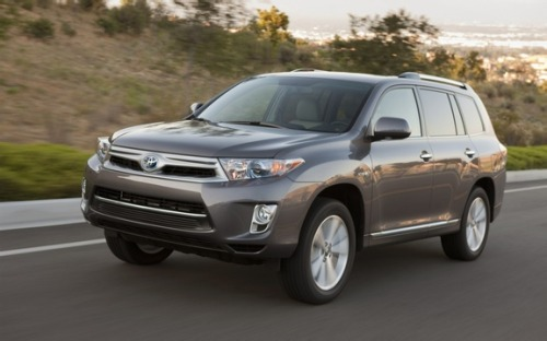 Toyota recalled a variety of models