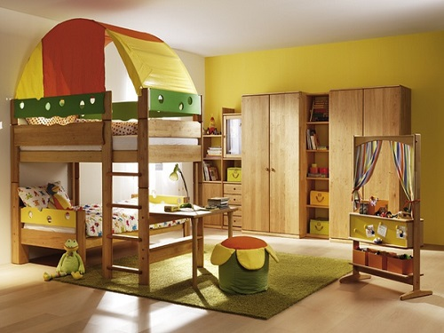 Children's rooms should not be over-modern