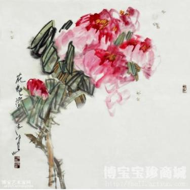 Flower and Bird Painting: Originating from Life Reflecting Life Higher than Life