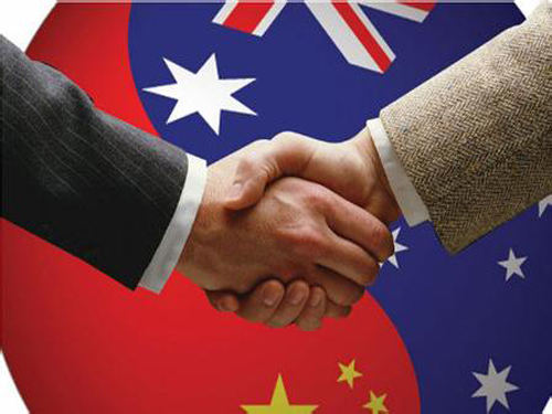 The China-Australia Free Trade Agreement signed as soon as possible this week