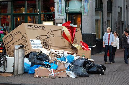New MINI Trash Box Creative Advertising