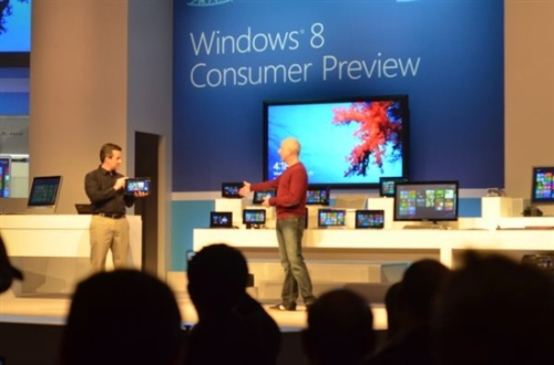 Counterattack rumors? Microsoft showcases Win8 on all major ARM platforms