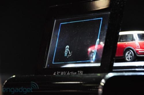 Transparent bistable design LG concept display debut