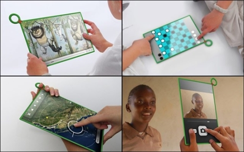 One tablet for each child OLPC tablet debut this year