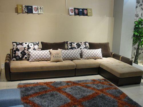 Buy fabric sofa with doorway