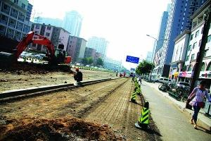 "The traffic police said that the bumping of the road during the road reconstruction is the best ""private"""