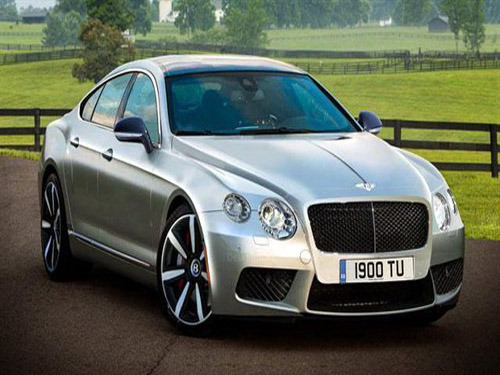 Equipped with W12 engine Bentley