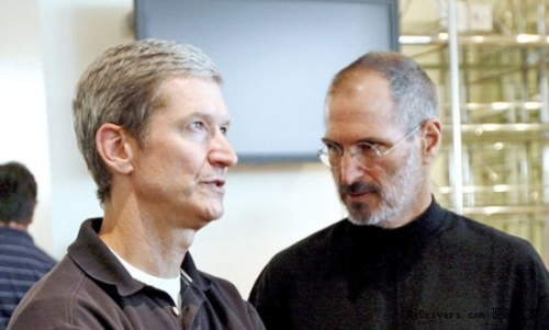 Apple Announces CEO Jobs Resigns COO Cook Takes Over