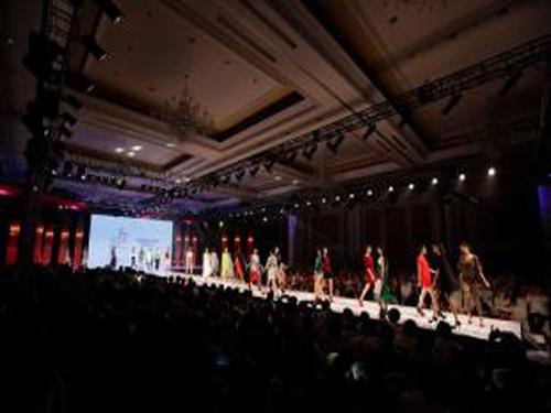 Opening of the international fashion season theme month