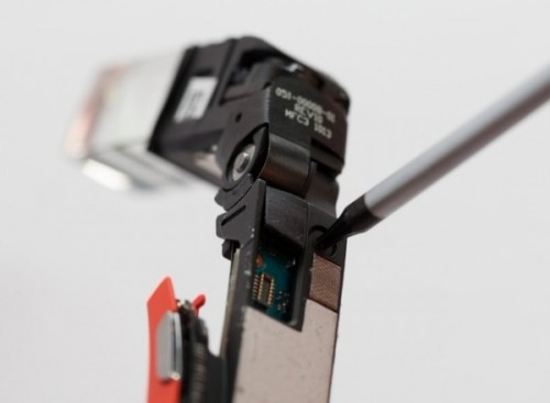 Dismantling Google Glass can not be restored