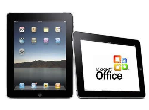iPad version of Office for only 10 US dollars Competition with iWork
