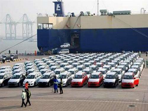 Imports of automobiles in the first half of China soared