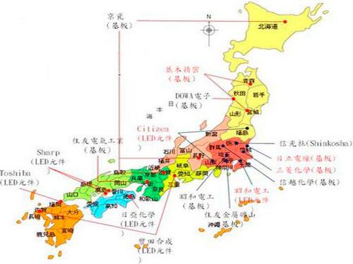Japan's earthquake has little impact on LED production capacity