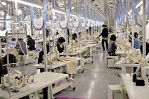 Gaoqing County won the title of high quality textile and garment base