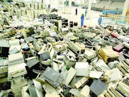 Annual output value of e-waste industry chain reaches 100 billion