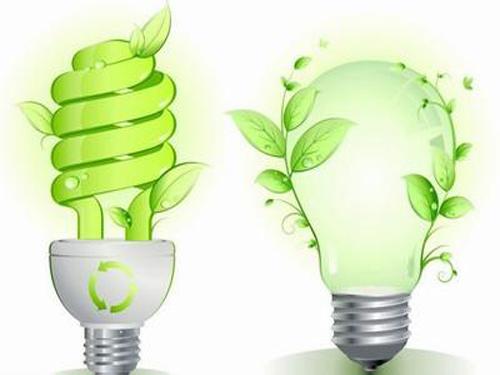 Energy-saving lamps save energy and worry