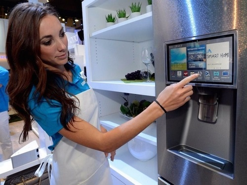 Refrigerator will likely replace color TV into home center