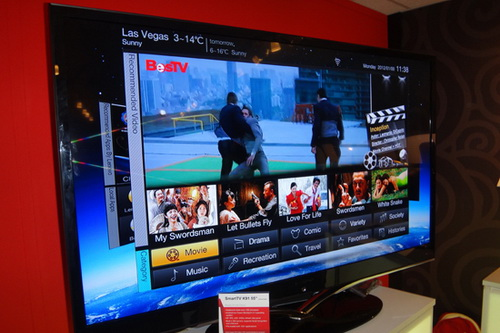Lenovo smart TV idea TV listed in April First China