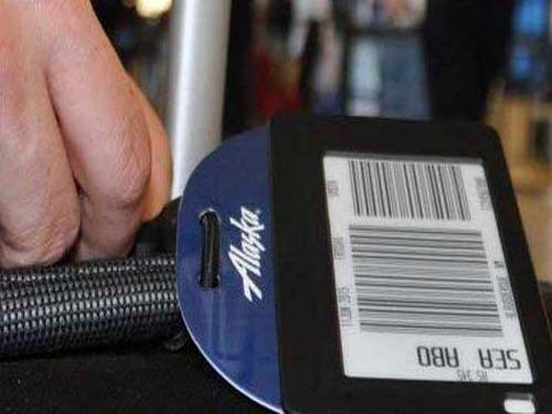 Alaska Airlines Adopts RFID Electronic Luggage Tag