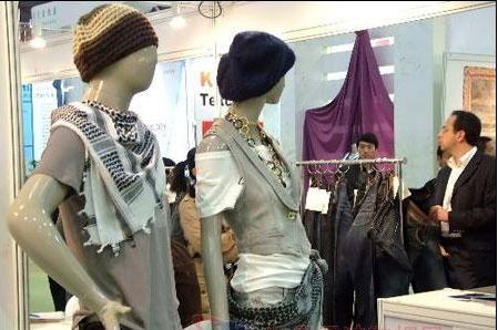 January-August garment export data across China