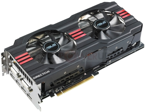 ASUS Radeon HD 7970 DirectCu II Detailed Specification Comes