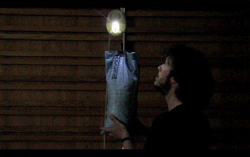 "British designers invent ""gravity lights"""