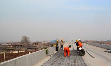 Ballastless Track Construction Begins at the 15th Bureau of China Railways