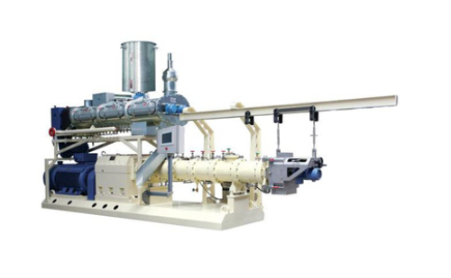 Twin screw extruder function introduction
