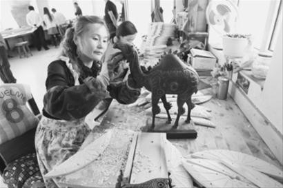 Wooden Crafts Fuminqiang Town