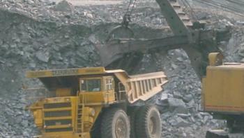 Stone plate mining made new progress