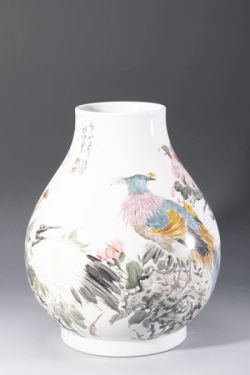 The gorgeous turn from daily porcelain to Chinese painting porcelain