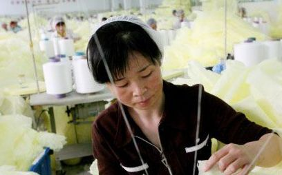 Taiwan's textile output decreased year-on-year in 2012