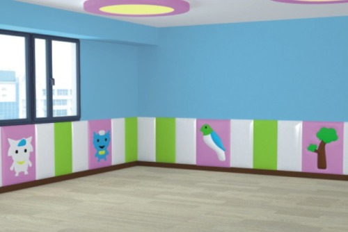 Children's anti-collision soft pack features and installation methods